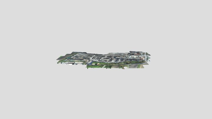 Villabona Simplified 3d Mesh 3D Model