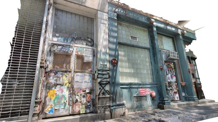 Green Door Bowery 3D Model