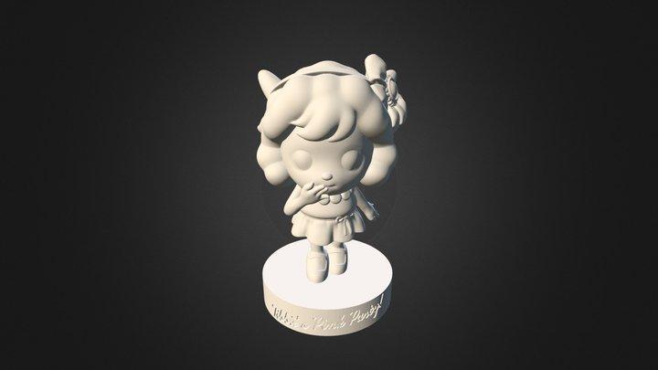 Sheep Sweet01 3D Model