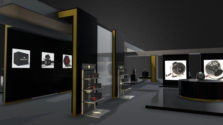 BLACK ORCHID VIRTUAL SHOWROOM 3D Model