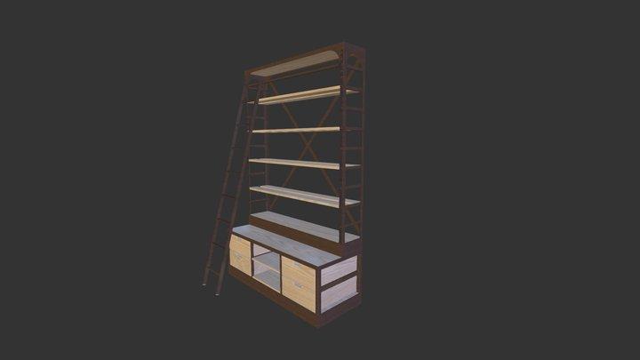 1950s Shipyard Shelf 3D Model