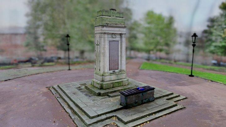 War Memorial - Leigh 3D Model