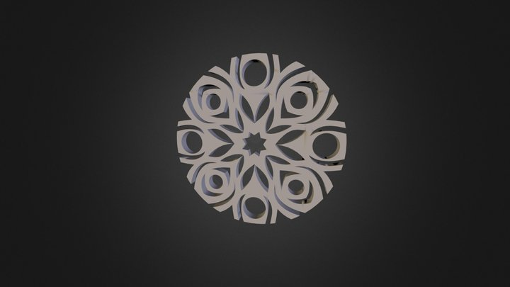 First Mandala -avigail Turner 3D Model