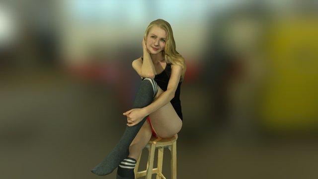 Anastasia Pose4 3D Model