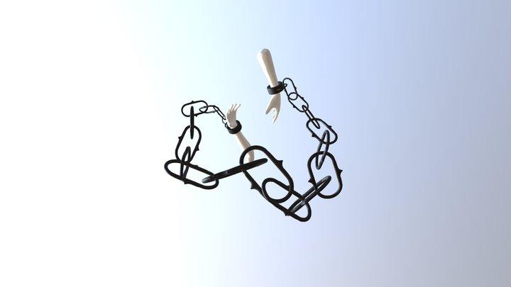 Hand Cuffs 3D Model