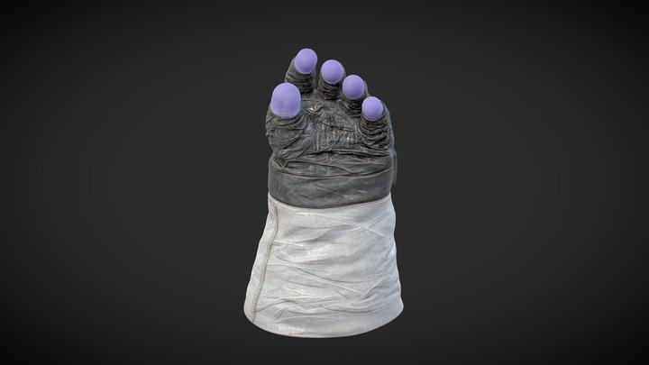 Apollo 11 Lunar Extravehicular Gloves 3D Model