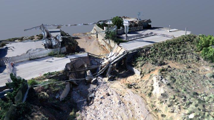Megara - Collapsed Bridge 3D Model