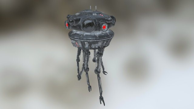 Imperial Probe Droid 3D Model
