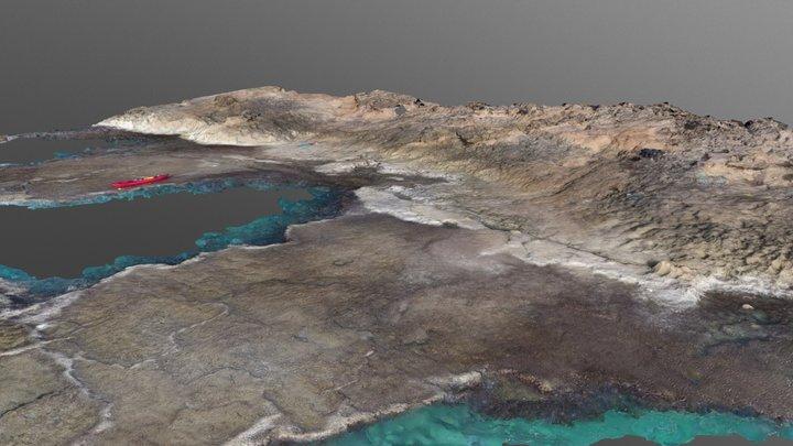 Intertidal shore @ Achziv, Nahariyya, Israel 3D Model