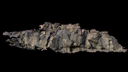 Inscription Canyon, North Wall, Segment 1 3D Model
