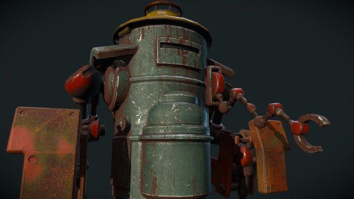 Junkbot 3D Model