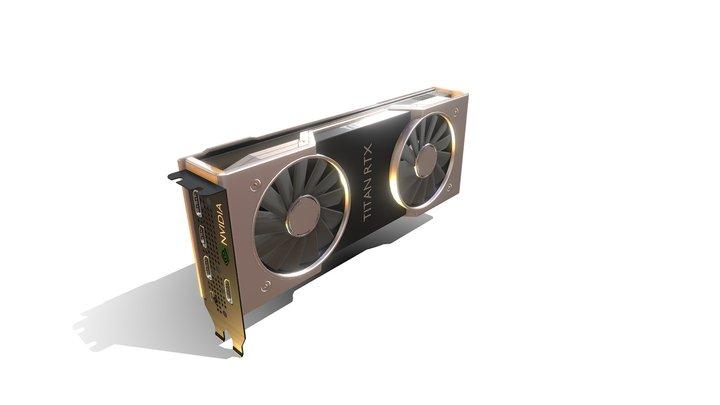 RTX Titan 3D Model
