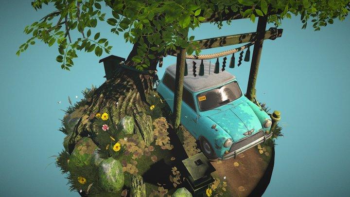 Forest Stroll 3D Model