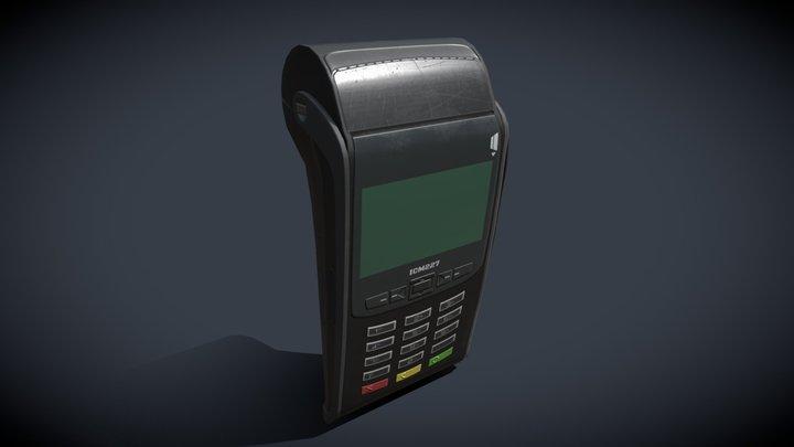 POS terminal 3D Model