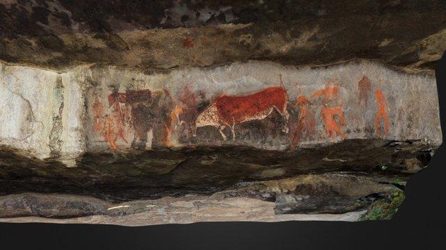 Rosetta Stone of Rock Art, South Africa 3D Model