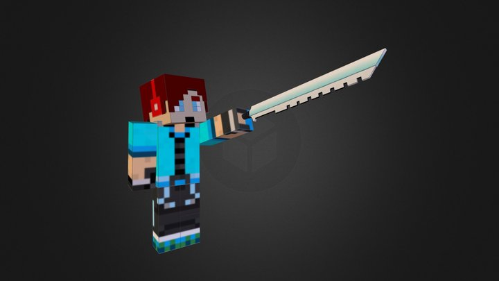 My Minecraft Skin 3D Model