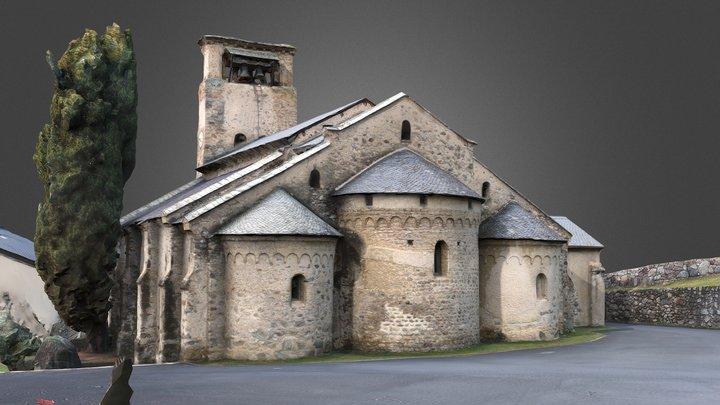 Eglise Saint-Blaise de Verdun sur Ariège 3D Model