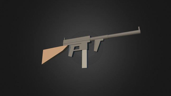 Spitfire Carbine 3D Model