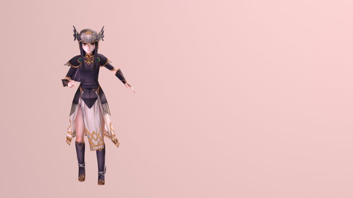 AhlyーVALKYRIE PROFILE 3D Model