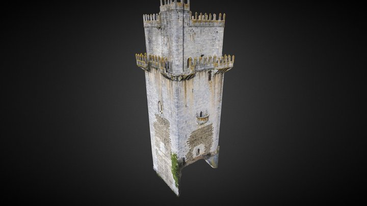 Castle Keep (Beja, Portugal) 3D Model