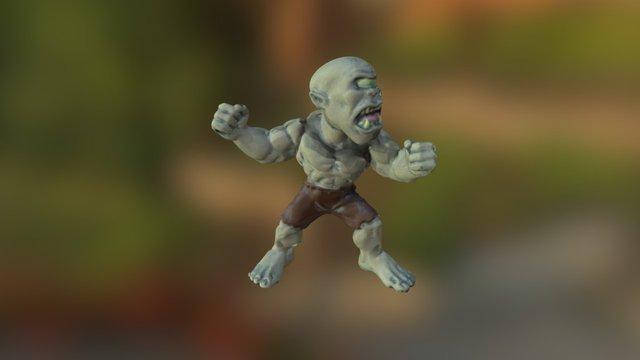 Freaky Monster - 3Digify Test 3D Model