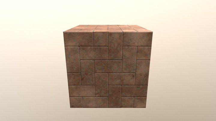 Brick Texture made in Substance Designer 3D Model