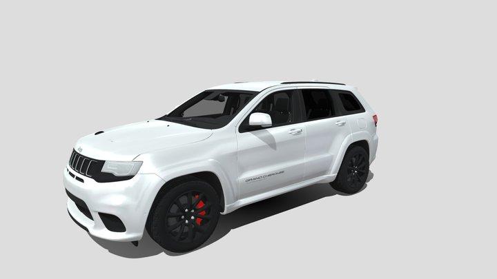 Jeep Grand Cherokee Trackhawk 3D Model