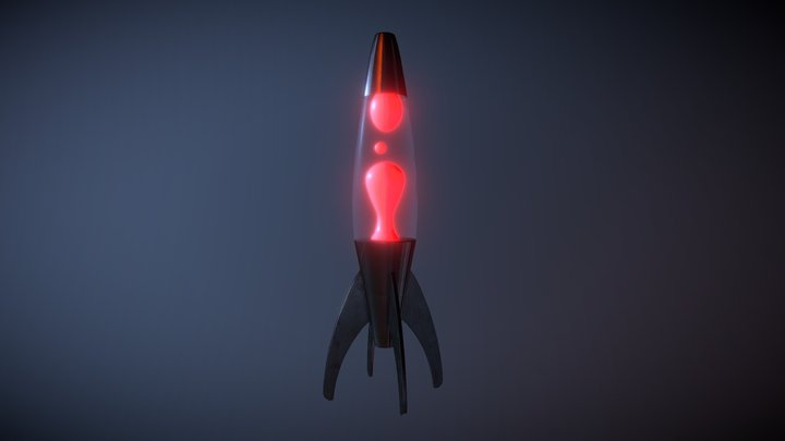 Mathmos Lavalamp 3D Model