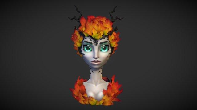 Autumn Dryad 3D Model