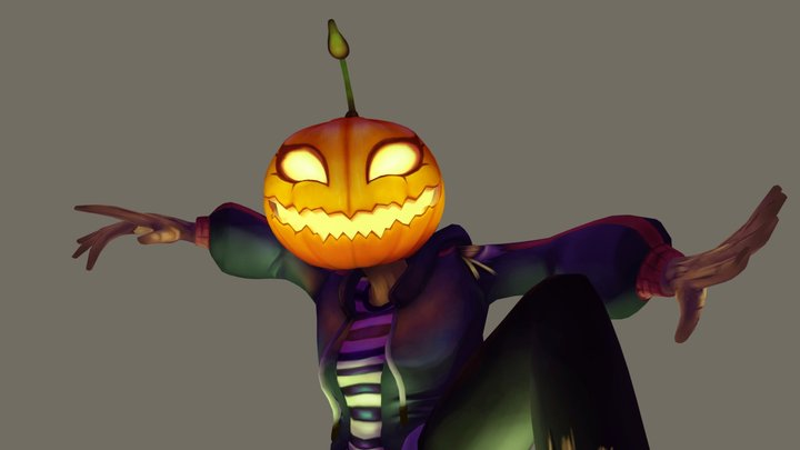 Jack o'lantern 3D Model