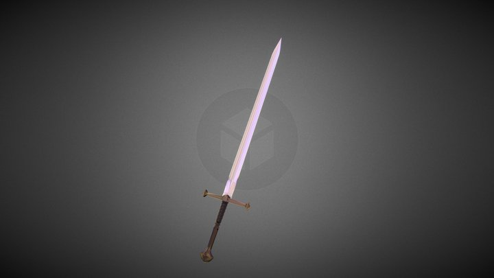 Mythical sword 3D Model
