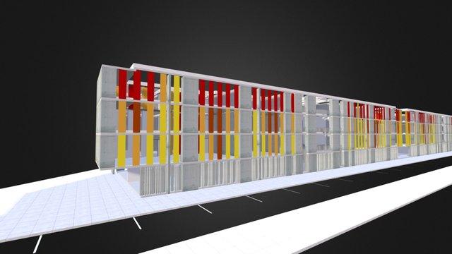 Colegio San Andres 2 / Gubbins Arquitectos 3D Model