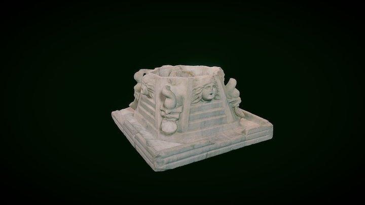 Fontana Marmorea (I-II sec. Libarna-AL) 3D Model
