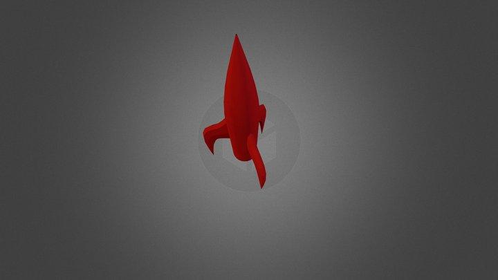 rocket 3D Model