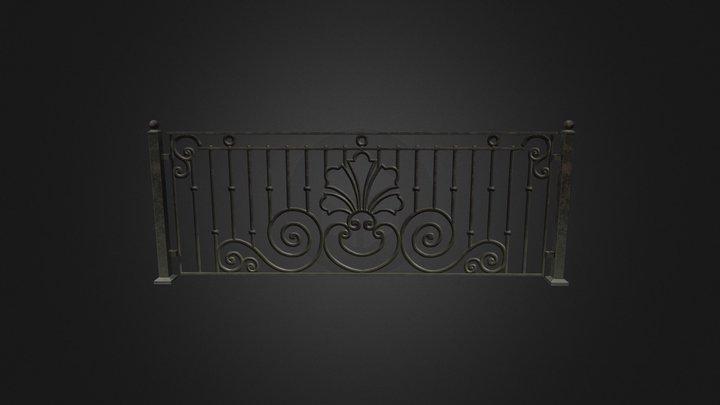 l Fence 3D Model