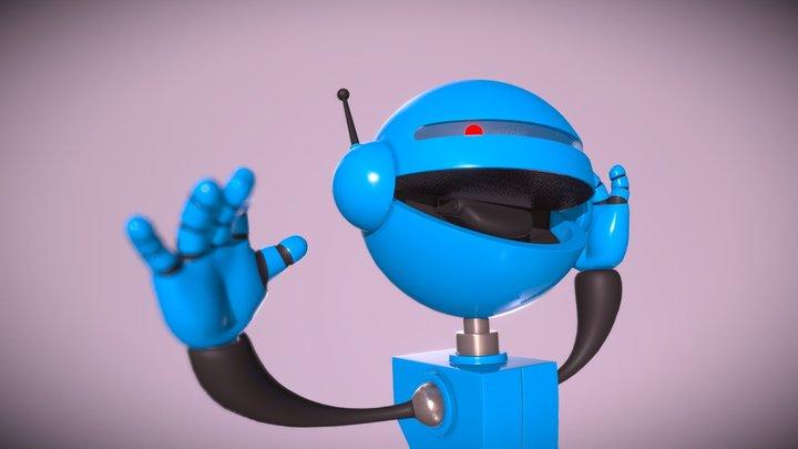 Utility Bot 3D Model