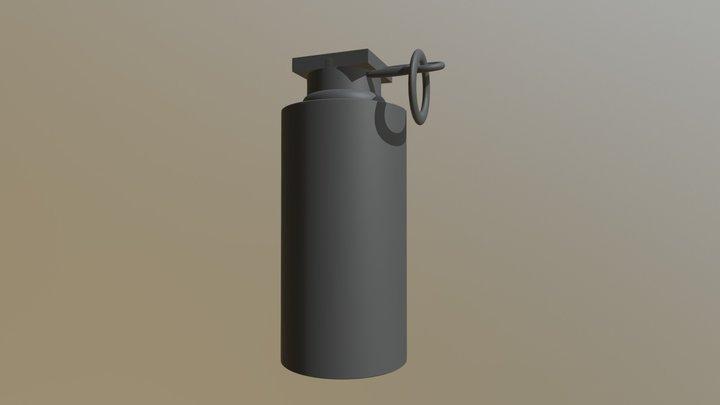 basic Flashbang 3D Model