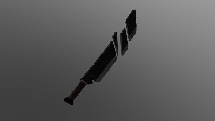 Broken Sword 3D Model