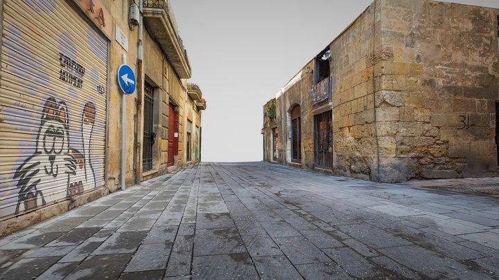 Street Scan Tarragona 3D Model