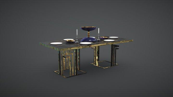 Vasco Table 3D Model