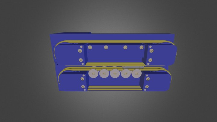 Spool Washer Feeder Assembly 3D Model