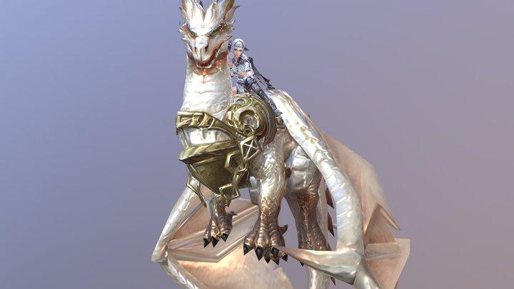 白龙驭骑 3D Model