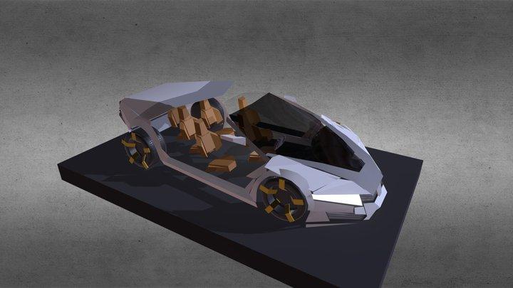 Version 3 of Civic Concept Car 3D Model