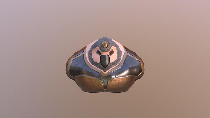 Creature Bust 3D Model