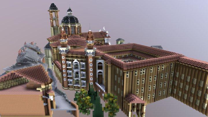 Vincitore 3^ Sfida Raffaello in Minecraft - MED 3D Model