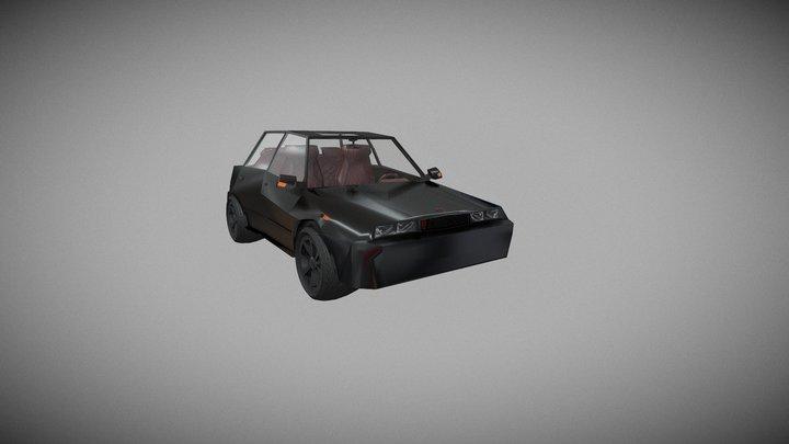 ATK A1 Car 3D Model