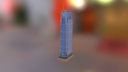 Milleniumtoren in Minecraft - Rotterdam 3D Model