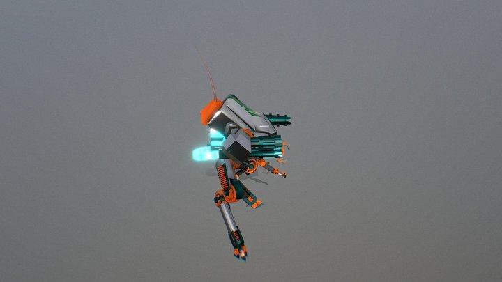Robot Draf2 3D Model