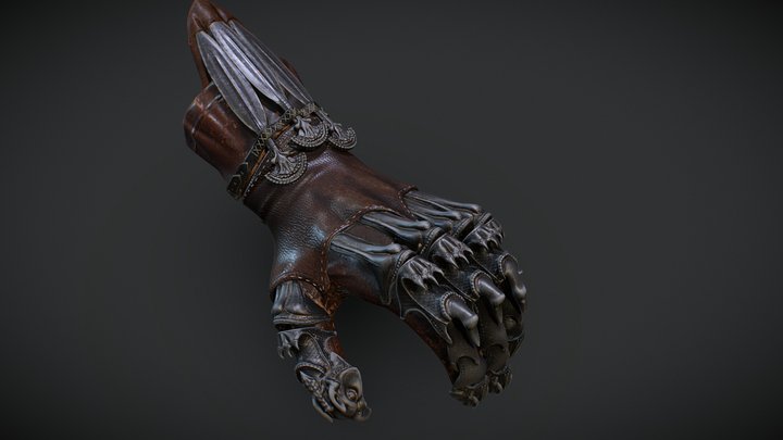 Prince of Persia - Glove 3D Model