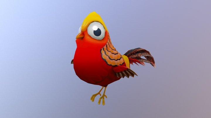 Golden Pheasant 3D Model